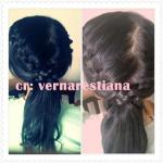Casual ponytail braid